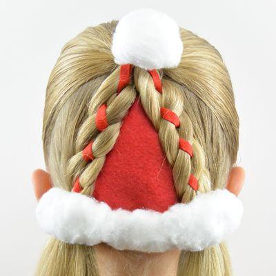 Santa Hat Hairstyle