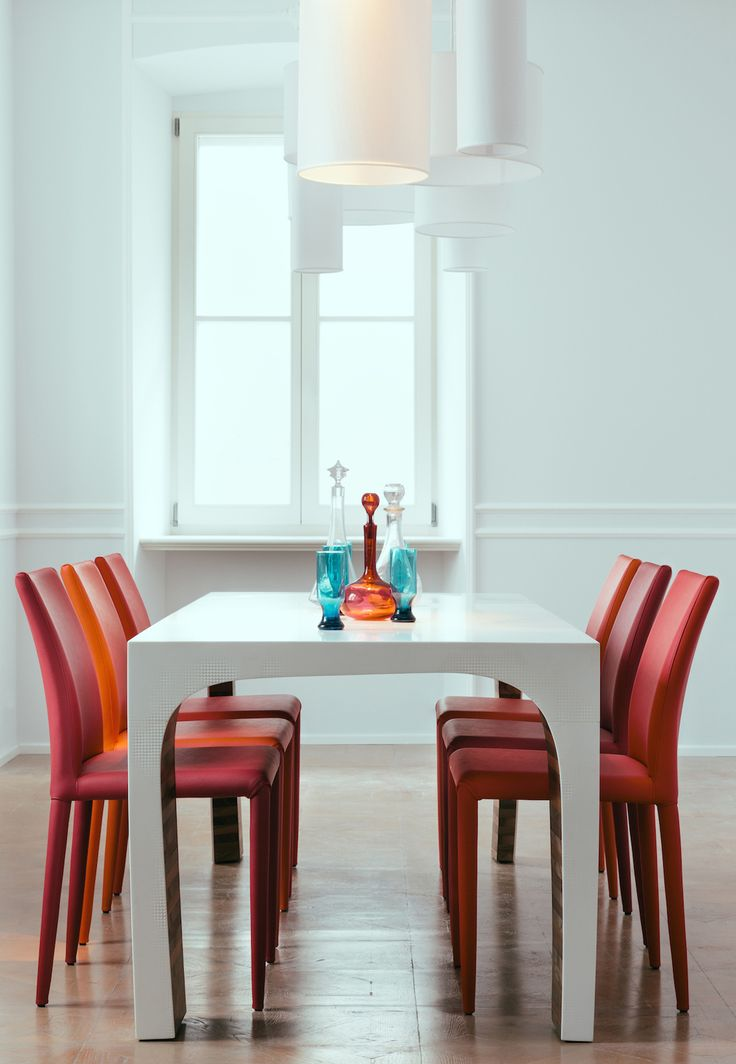 HEMINGWAY on set #engravings #corian  #table #design #interior | ph. Tomaso Lisca