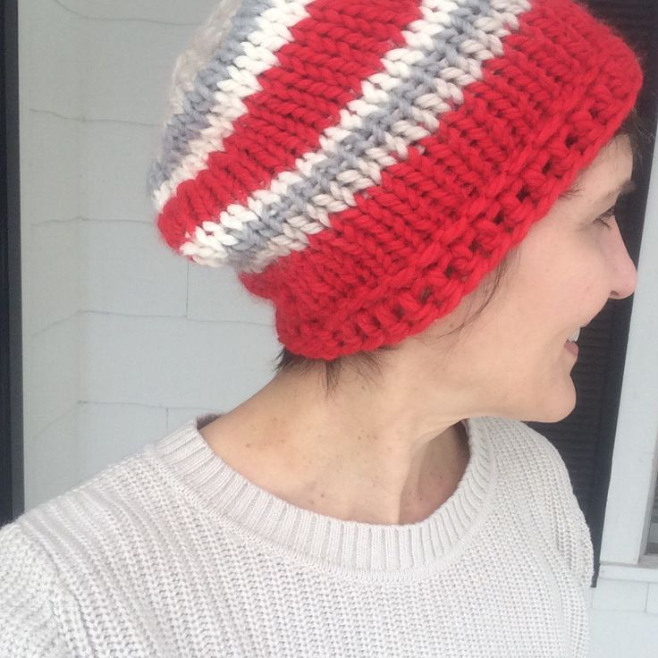 Knitting Stitch Patterns For Chunky Yarn : Chunky easy knit hat yarns patterns and tricot