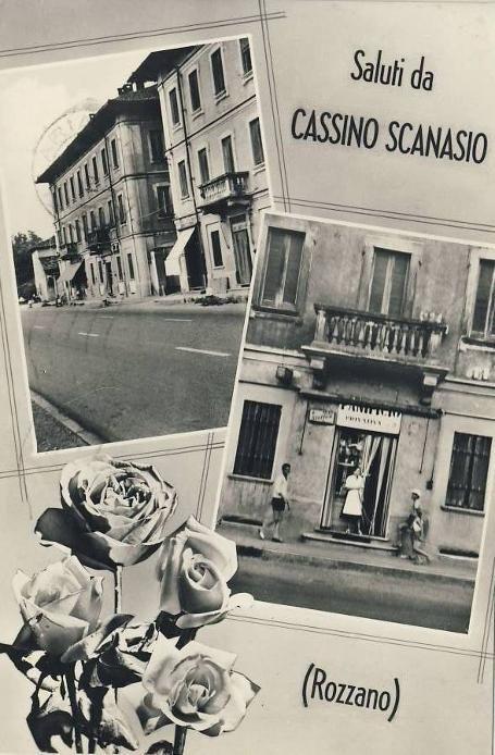 Cartoline da Rozzano - Cassino Scanasio anni '60