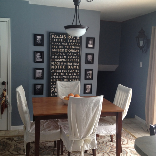 Van Courtland Blue dining room Paint Colors Pinterest  : 063e06fc8e88e11555ea477fbcab45dd from www.pinterest.com size 640 x 640 jpeg 126kB