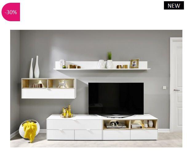 Meuble tv design mural volgia atylia meuble tv atylia ventes pas atylia pinterest - Atylia meubles decoration ...