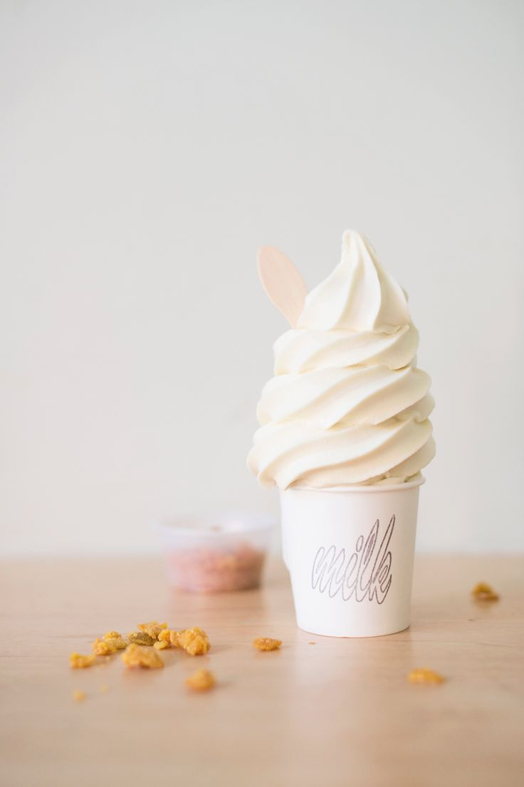 Cereal Milk ice-cream from Momofuku Milk bar, NYC. Photo by Samantha Goh — http://milkbarstore.com/main/menu/