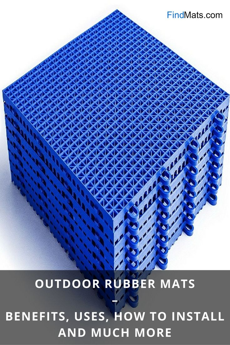 Outdoor Rubber Mats Benefits Uses How To Install And Much More From Findmats