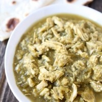 Slow Cooker Chicken Chile Verde | Two Peas and Their Pod | www ...