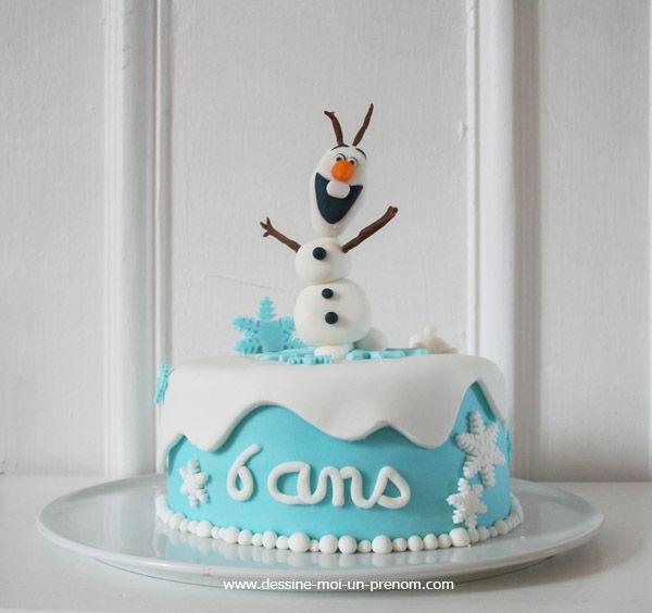 Populaire Les 25 meilleures idées de la catégorie Gâteau olaf sur Pinterest  KZ72