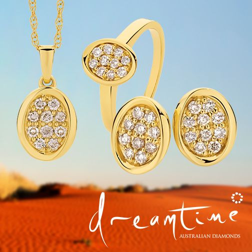 Beautiful Dreamtime Diamond Jewellery Collection. http://www.showcasejewellers.com.au/products/products_search/search_product/search/dreamtime