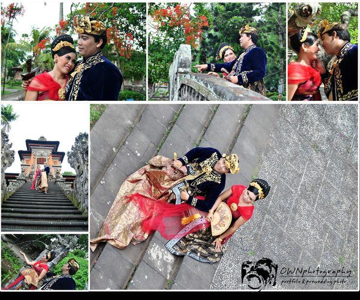 Balinese prewedding @ art centre denpasar bali