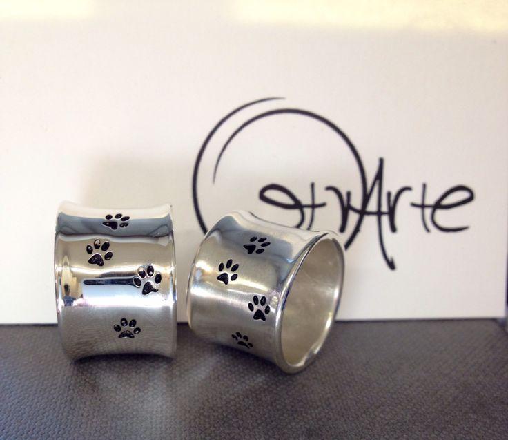 Anelli impronta in argento by Etrarte