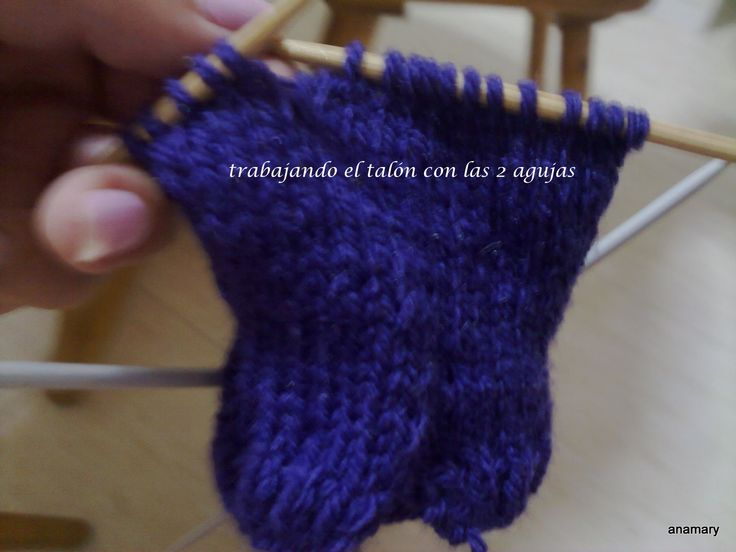 Mejores 60 im genes de calcetines en pinterest - Como hacer calcetines de punto ...