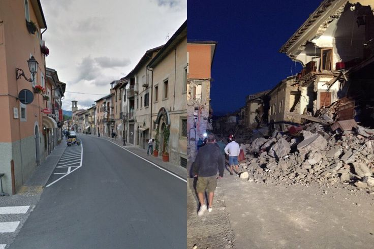 """Uživatel Twitsnoop na Twitteru: """"#Now Before and After pictures from street in…"""