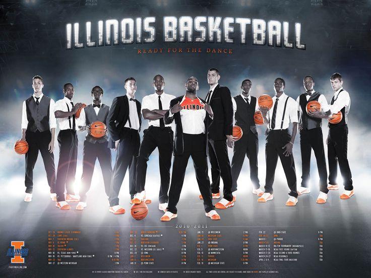 illini basketball. i love this poster.
