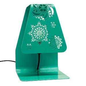 LAMIDEA EMILY TABLE LAMP - GREEN on @Kwerkee dec2012