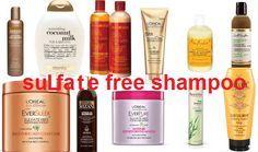 Sulfate Free Shampoo on Pinterest | Drugstore Shampoo