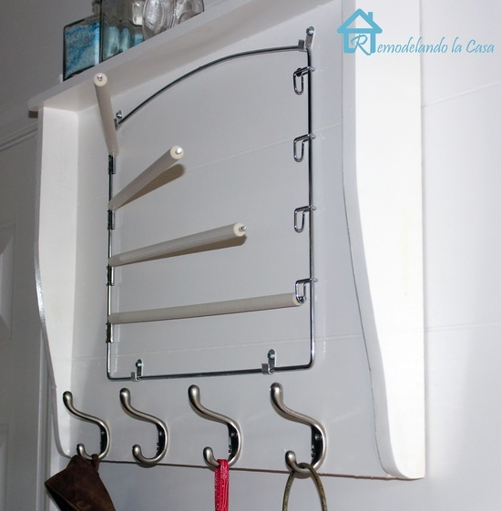 laundry room shelves ideas | Great ideas/DIY / Shelf for Laundry Room
