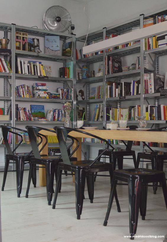 Madrid Cool Bog. Italiana Madrid, librería-café en Malasaña. Temática italiana.
