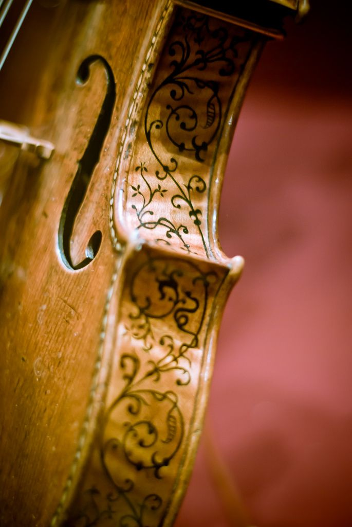 Stradivarius 'Ole Bull' Violin. Only 11 ornamented Stradivarius instruments survive today.  This violin, named Ole Bull, is one of them.  It is housed at the Smithsonian Museum of American History as part of a Stradivarius quartet.