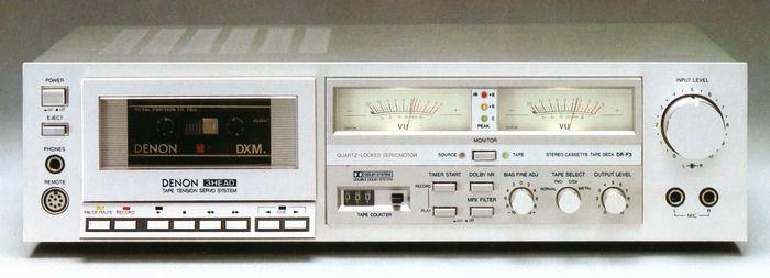 DENON DR-F3 1981