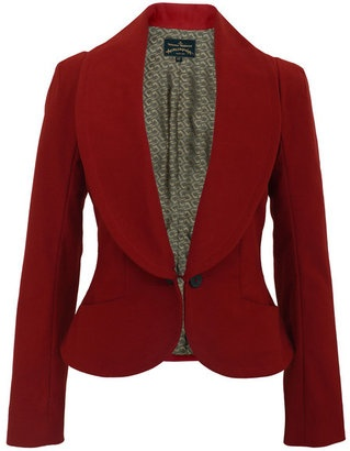 Vivienne Westwood - Anglomania Electric-08 Red Jacket. Channel your inner regimental soldier with this impeccable blazer.