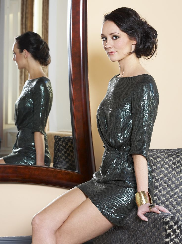 Claire Cooper - she's so pretty when she's not chavved up in Hollyoaks!
