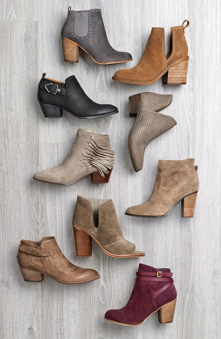 I'll take one of each please!! But in all seriousness, I can't believe how affordable all of these cute fall and winter booties are at Nordstrom. Such a good deal!