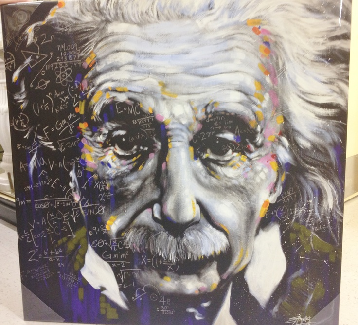 Albert Einstein Canvas Art