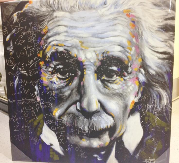 Albert Einstein Canvas Art