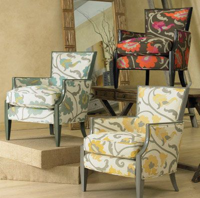 #Sam Moore Makes Some Of The Most Stylish Accent Chairs On The Market. At