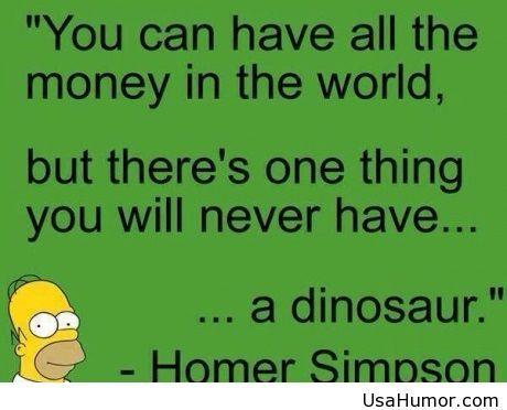 Homer Simpson words of wisdom