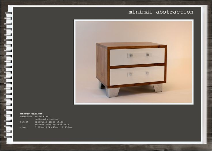 Minimal Abstraction: Drawer Cabinet