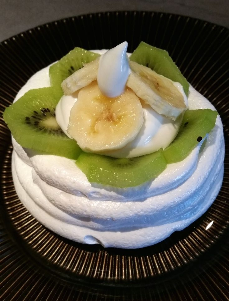 Kiwi Pavlova With Lime Zest Recipes — Dishmaps