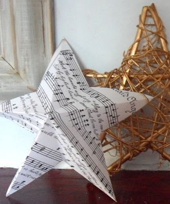 gillyflower: Tutorials - how to make a 3D star