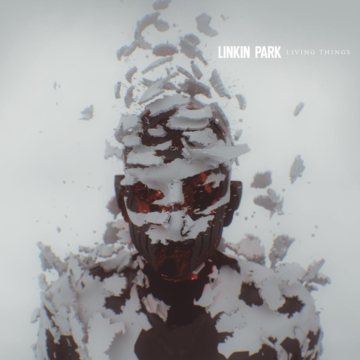 album cover art: linkin park - living things [2012]