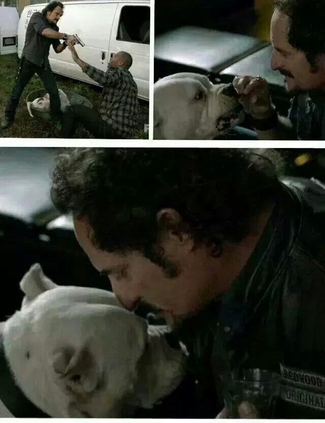sons of anarchy gemma and tig scene