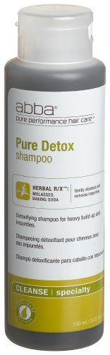 Abba Pure Detox Shampoo, 8 Ounce Bottle (Pack of 2) * More info could be found at the image url. #hairgrowth