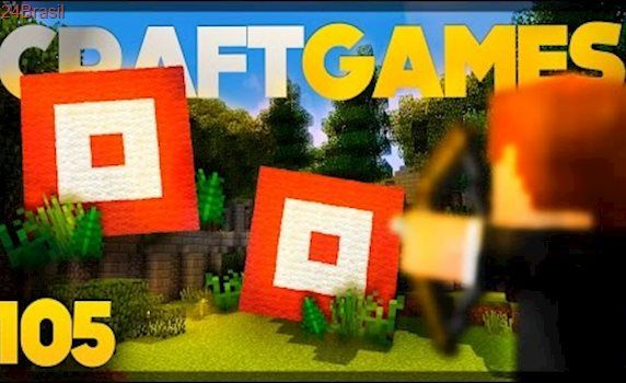 Mini-game TIRO ao ALVO PRONTO! - Craft Games 105