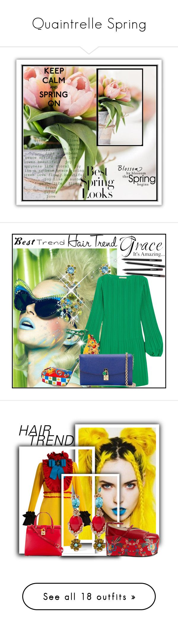"""Quaintrelle Spring"" by bibiantje-m on Polyvore featuring mode, schoonheid, hairtrend, rainbowhair, Valentino, Nivea, H&M, By Lassen, Élitis en Bobbi Brown Cosmetics"