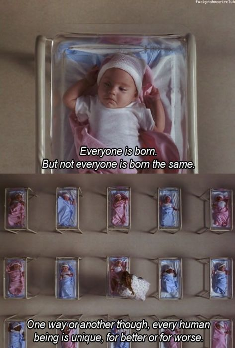 Everyone is born the same