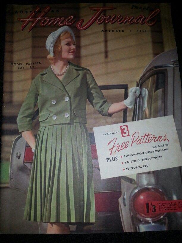 Australian home journal October 1960 cover