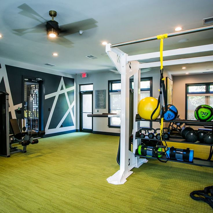 Fitness Center At Stone Creek At Brookhaven Apartment