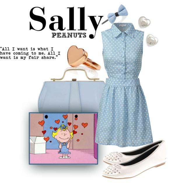 """Sally Brown"" by unusualsidekick on Polyvore"