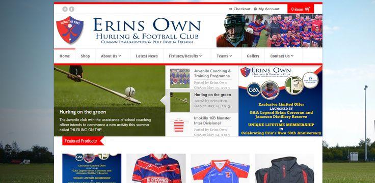 Erin's Own GAA Website