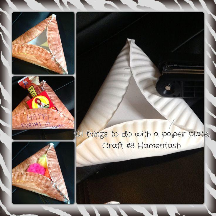 New Purim Paper Plate Craft! https://www.morahsupplies.com/blog/?p=250