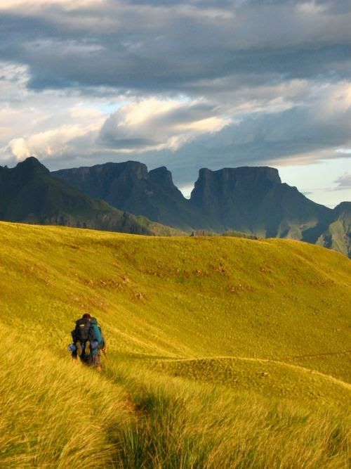 Drakensberg Mountain, South Africa.