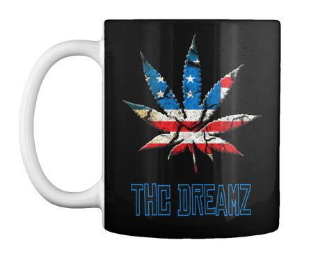 Thc Dreamz Black Mug Front