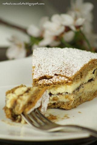 torta crema ricotta al caffè