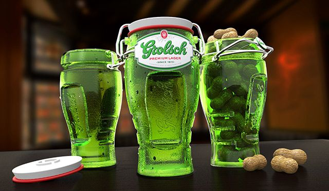 Grolsch Beer Bottle Repackaged | Designer: Evelio Mattos