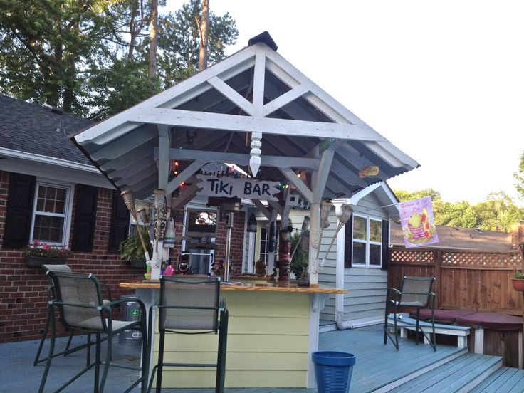 Backyard Tiki Bar. The Best!