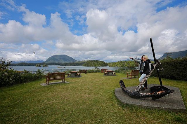 Contest Checkpoint: Anchor Park, situated on Tofino's historic Main Street at…