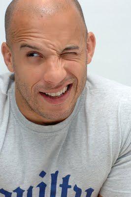 Vin Diesel -- adorable :)!